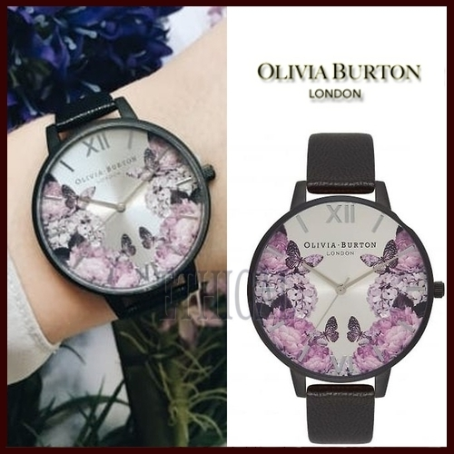 Olivia Burton 【送料税関込】AFTER DARKFLORAL 38mm 国内発送
