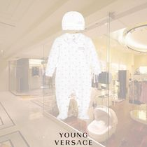 YOUNG VERSACE(ヤングヴェルサーチ) ベビーその他 【17AW】YOUNG VERSACE/パープルメデューサベビーグローセット
