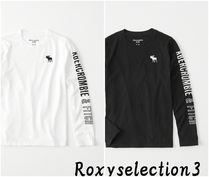 【Abercrombie Kids】LOGO GRAPHIC TEE 長袖Tシャツ♪