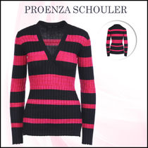 ★送料/関税無料★ Proenza Schouler striped knit pullover