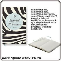kate spade new york(ケイトスペード) ノート 【SALE】*Kate Spade* i married adventureノートブック black