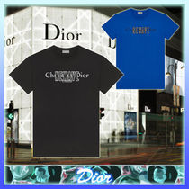【 Christian Dior 】 NEWAVE プリント コットン Tシャツ 2種