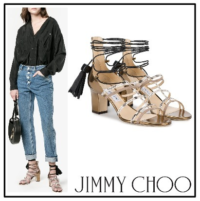 2017SS◆Jimmy Choo◇Diamond 65 サンダル