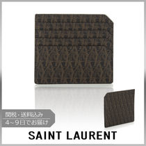 【VIPセール】Saint Laurent★Monogram-print カードホルダー
