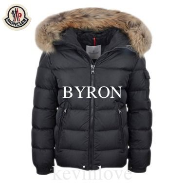 MONCLER アウター 大人もOK 17/18モンクレールキッズ フード付BYRON 12A/14A