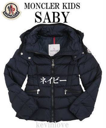MONCLER アウター 大人もOK 17/18モンクレールキッズ 人気のSABY ネイビー 12A/14A