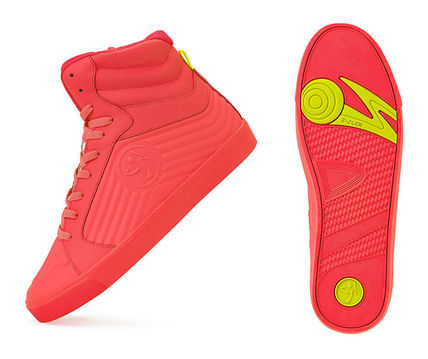 Zumba Street Groove Shoes - Coral