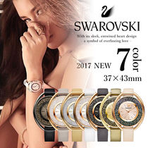 【SWAROVSKI】スワロフスキー Crystalline Oval Watch 37x43mm