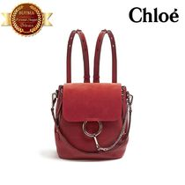 Chloe クロエ Faye  leather backpack