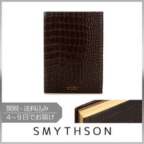 SMYTHSON(スマイソン) ノート 【VIPセール】SMYTHSON★Soho crocodile-effect leather ノート