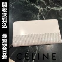 SALE!国内即発!CELINE Zip Around バイカラ― white&black