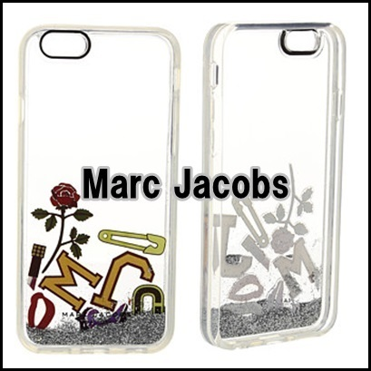 MARC JACOBS マークジェイコブス  iPhone 6S ラメ 新作 クリア