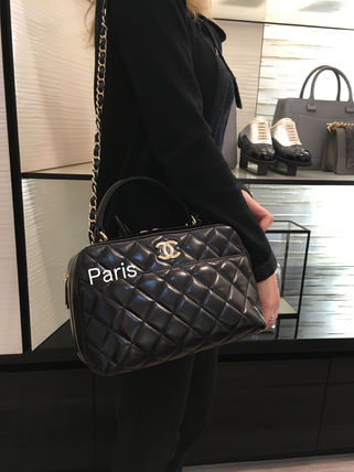 17Metier d'Art collection限定!CHANEL TRENDY CC SAC BOWLING