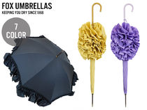 FOX UMBRELLAS レディース 傘 WL9 Deep Frill Edging ihjwl9