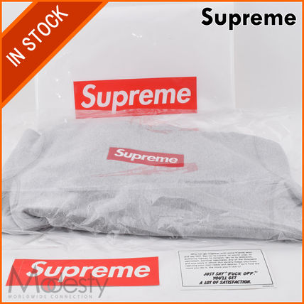 【日本国内発送】 SUPREME BOX LOGO HOODED SWEATSHIRT GREY M