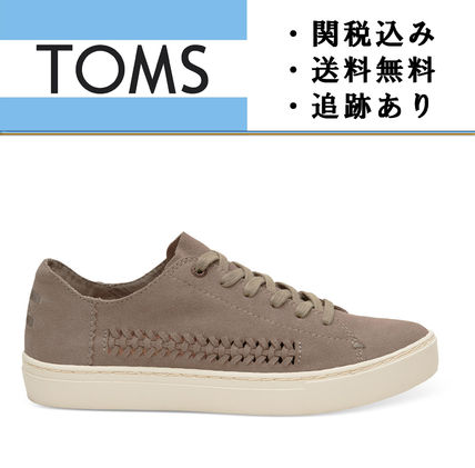"""""""TOMS""""Desert Taupe Deconstructed Suede レディース スニーカー"""