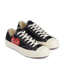 国内即日発送!PLAY Converse Chuck Taylor '70 Low Black/24.5cm
