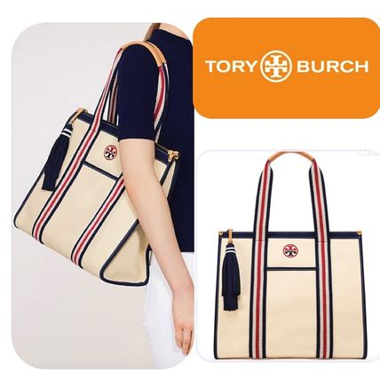 最終セール Tory Burch Embroidered T tote