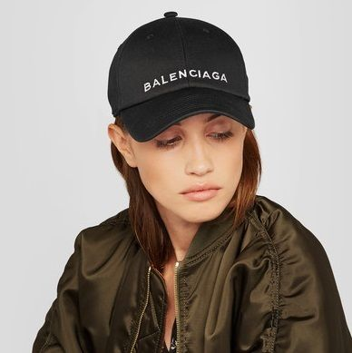 BALENCIAGA >> cotton baseball cap ベースボールキャップ