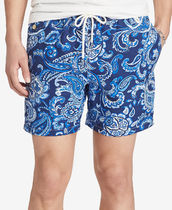 Polo ralph lauren Men's Paisley Traveler Swim Trunks★水着