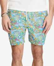 セール! Polo ralph lauren Men's Paisley Swim Trunks★水着