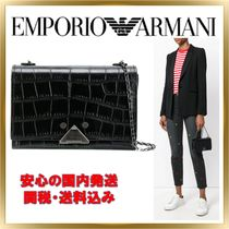 ◇ EMPORIO ARMANI ◇ chain strap shoulder bag 【関税送料込】