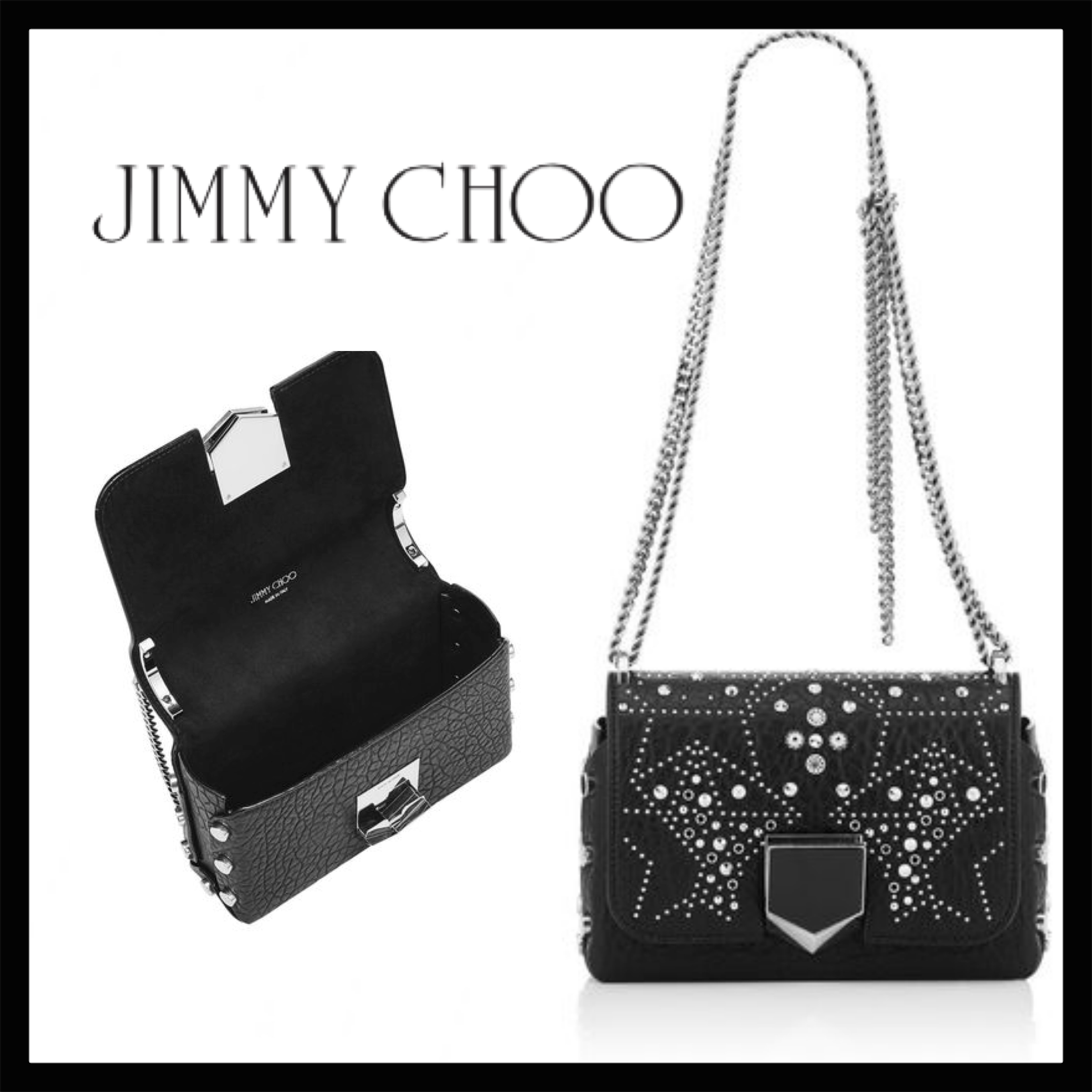 Jimmy Choo LOCKETT PETITE LOCKETTPETITEGEQ ☆