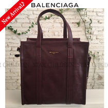 VIPセール♪♡BALENCIAGA Bazar Shopper S,Burgundy Red