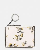 Coach Mini Skinny Id Case In Prairie Print Coated Canvas