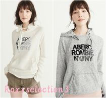 【Abercrombie&Fitch】LOGO GRAPHIC HOODIE かわいいフーディ