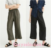 【Abercrombie&Fitch】CROPPED WIDE-LEG PANTS☆ワイドパンツ☆