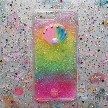 ★xmagic★エックスマジック★I-Phone Case★Mermaid shell★虹