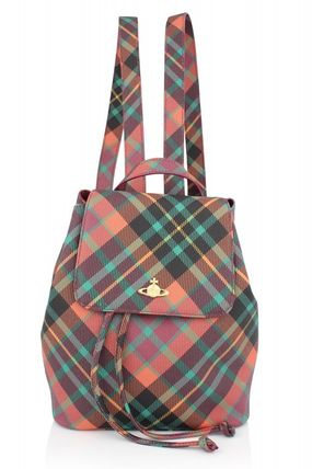 Derby 6954 Backpack Mac Henry tartan