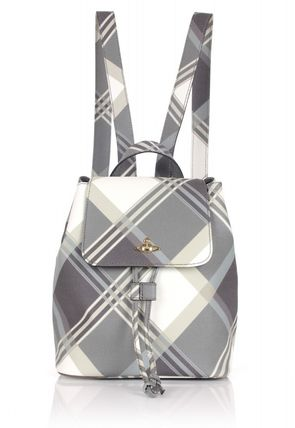 Vivienne Westwood Derby 6954 Small Backpack Mac Joe tartan