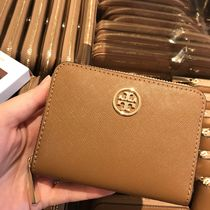 Tory Burch コインケース★Robinson Zip Coin Case★茶色