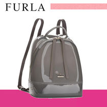 ★ FURLA ★人気!! CANDY BACKPACK リュック BJW2 グレー 即発