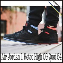 ★【NIKE】追跡発送 ナイキ Air Jordan 1 Retro High OG Quai 54