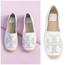 SS Tory Burch Perforated ESPADRILLE 夏に人気 エスパドリーユ