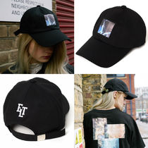 Ellioti Graphic Ballcap_Black ユニセックス