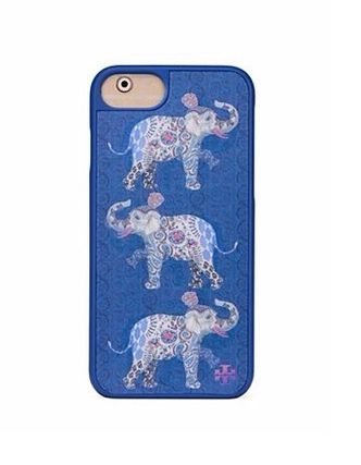【国内発送】Tory Burch★Hologram Elephant iPhone7 Case