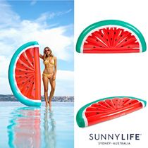 SUNNY LIFE 浮き輪 スイカ LUXE LIE-ON FLOAT WATERMELON