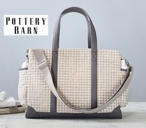 2017-18AW新作!Houndstouth Classic Diaper Bag☆pottery barn