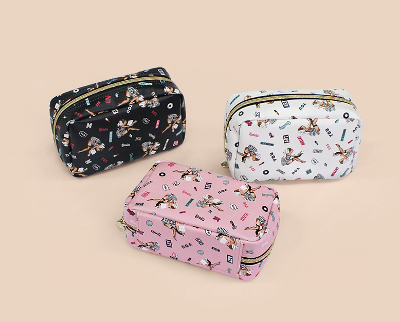 ★Marianne Kate★ Lucky Dog Multi Square Pouch