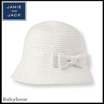 【Janie and Jack】日本未入荷☆ リボンクロシェハット 国内即納