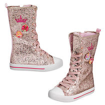 Disney(ディズニー) キッズその他 Disney Princess Glitter High Top Sneakers for Kids