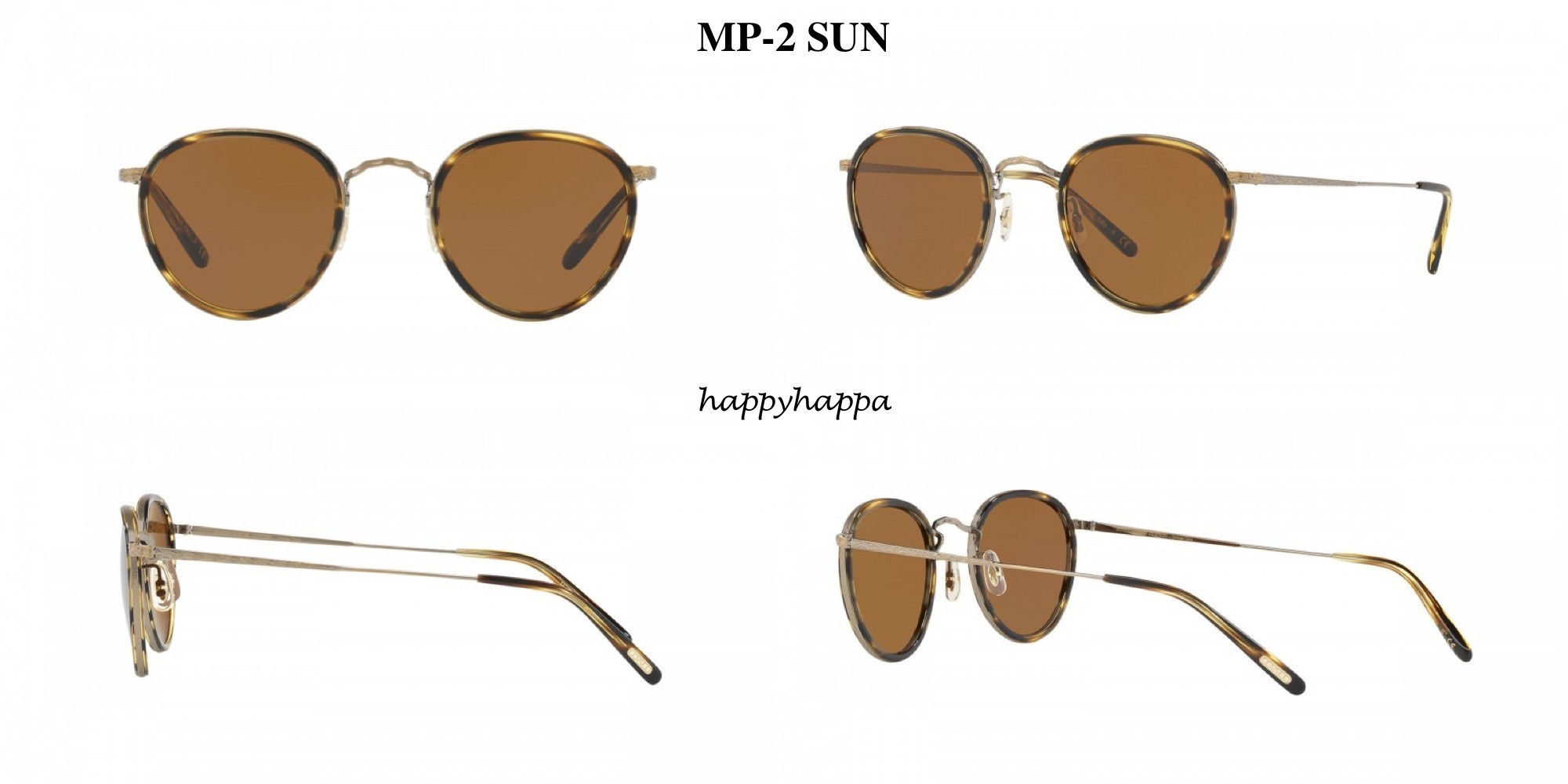 【Oliverpeoples】MP-2 SUN (AG/Cocobolo + Cosmik Tone Glass)