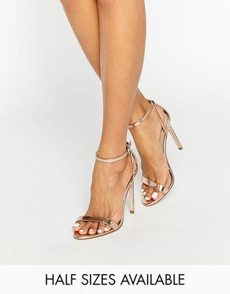 < 送料関税込み >ASOS HIGH FIVE Heeled ASOS ヒール サンダル