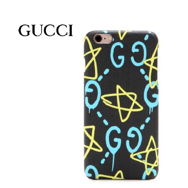 【国内発】Gucci Ghostプリント iPhone 6 Plusケース