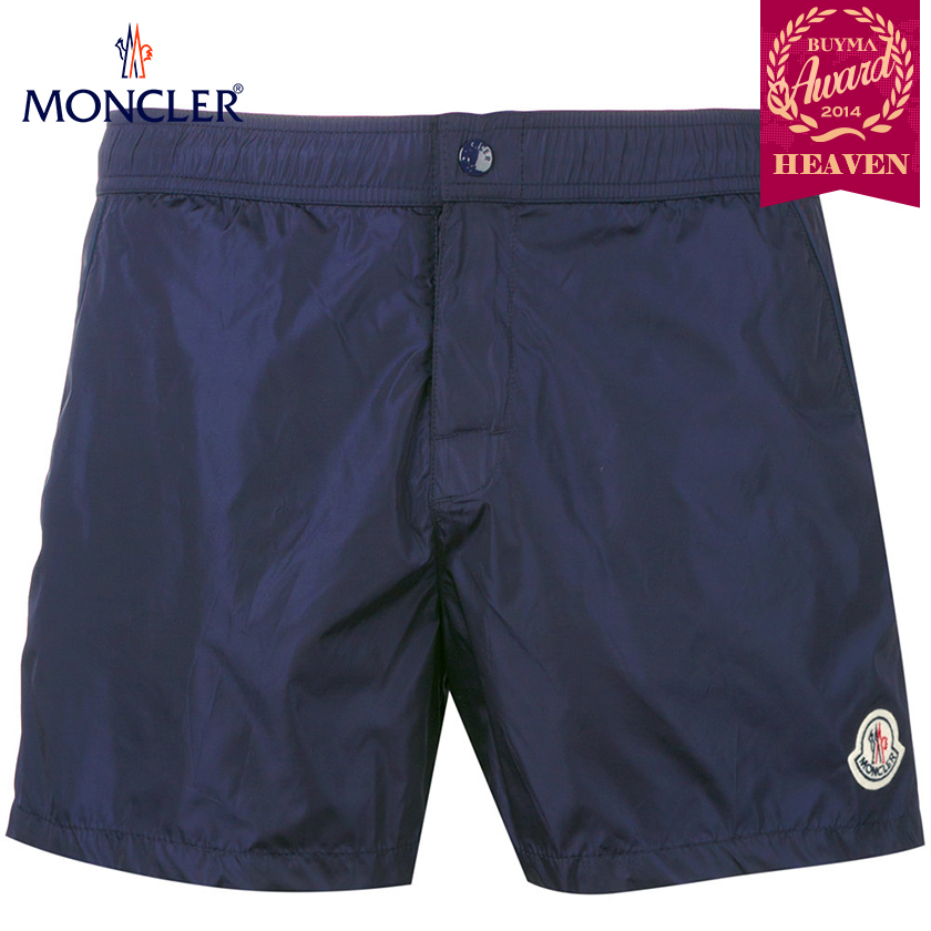 TOPセラー賞!17/18秋冬┃MONCLER★SWIMMING TRUNKS_ネイビー