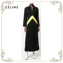 【17AW!新作!】★CELINE★zip collar dress